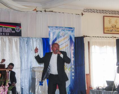 Visite apostolique à Antsirabe : Une croissance ferme et exaltante de la vérité.